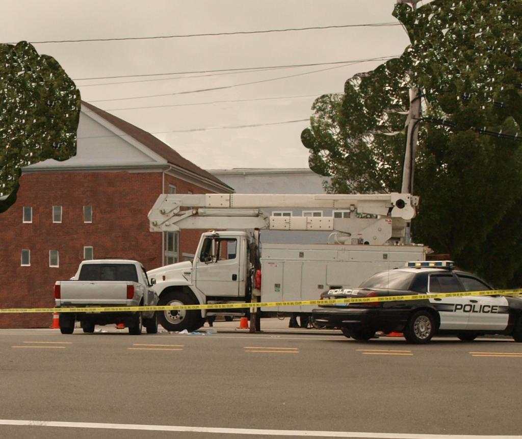 $6 Million for Officer Killed on Detail - contrtactor's truck blocking lane