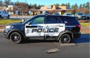 Massachusetts Police Cruiser Crash