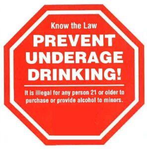 Prevent Underage Drinking